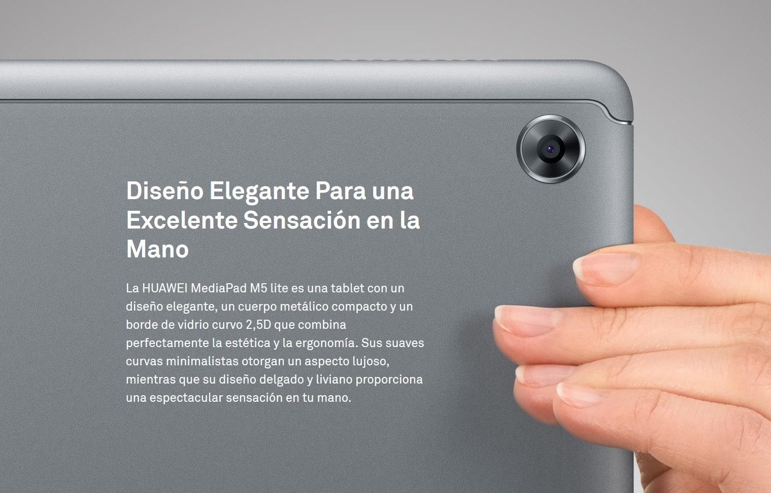 MediaPad Mi5 Lite des 8